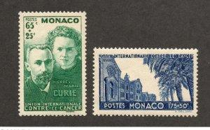 Monaco - Sc# B24 & B25 MLH     -       Lot 0320096