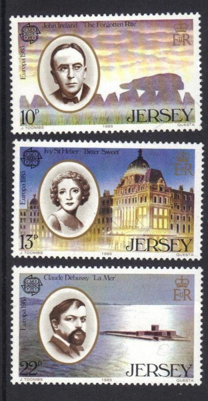 Jersey 1985  MNH  Europa   complete