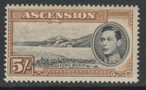 Ascension, Scott 48a (SG 46), MNH (slightly brownish)