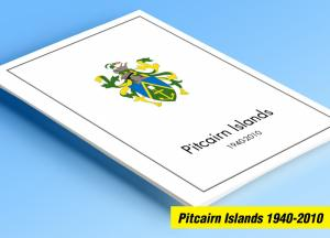 COLOR PRINTED PITCAIRN ISLANDS 1940-2010 STAMP ALBUM PAGES (118 illustr. pages)