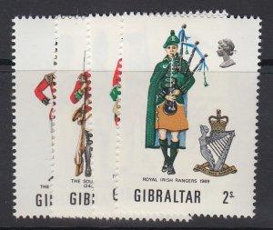 GIBRALTAR, Scott 234-237, MLH