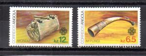 Angola 664-665 MNH