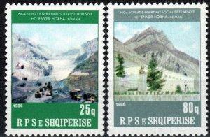 Albania #2201-2  MNH CV $17.50 (P541)