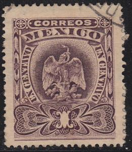 Mexico 304 Hinged Used 1903 Coat of Arms