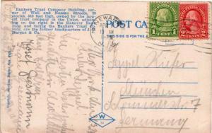 United States New Jersey Newark 1929 machine  1c Franklin and 2c Washington F...