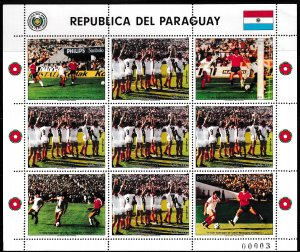 Paraguay,  SW 4023,  MNH,  1986,  Qualification for Football,  AA00205