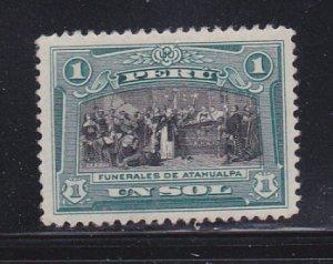 Peru 218 MNG Funeral Of Atahualpa