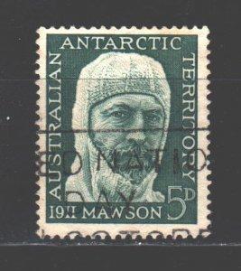 Australian Antarctic Territory (AAT). 1961. 7. Movson geologist, glaciologist...