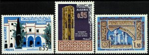 Algeria #369-71  MNH - Bardo Museum, Ruins (1967)