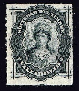 SPAIN STAMP ESPAÑA: FISCALES. SOCIEDAD DEL TIMBRE 1876 MH/OG VALIADORID