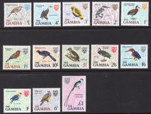 GAMBIA SCOTT 215-227