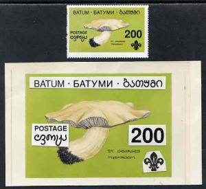 Batum 1994 Fungi - St Georges Mushroom 200r with Scout em...