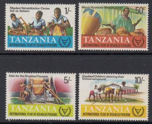 Tanzania 185-8 mnh