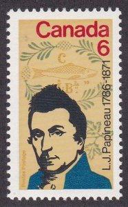 Canada # 539, Louis Papineau - Politician, LH