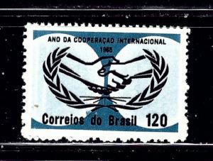 Brazil 1007 MNH 1965 issue