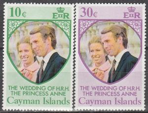 Cayman Is #320-1   MNH   (S6363)