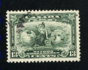 Canada #194   used   VF  PD