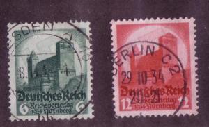 Third Reich Sc. # 442 / 443 Used