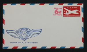 US Stamp Sc #UC22 Mint American Air Mail Society Norfolk Virginia