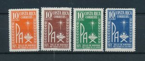 [104157] Costa Rica 1971 Postal tax children's village Christmas Christ  MNH