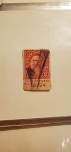 1923 2c washington scott# 554. Perf 11 plate number 16494