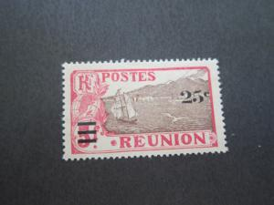 French Reunion 1924 Sc 116 MH