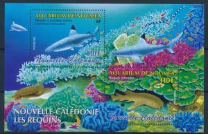 [37778] New Caledonia 2005 Marine life Sharks MNH Sheet