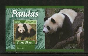 GUINEA BISSAU 2019 PANDAS  SOUVENIR SHEET MINT NEVER HINGED