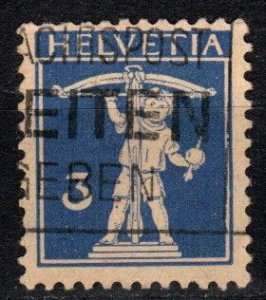 Switzerland #156a  F-VF Used CV $32.50  (X717)
