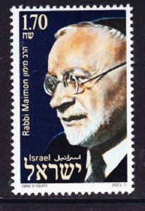 Israel #1011 Rabbi Maimon  MNH Single