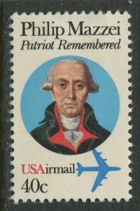 USA- Scott C98 - US Air Mail -1980 -MLH - Single 40c Stamp