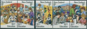 New Zealand 1977 SG1138-1142 Education set MH