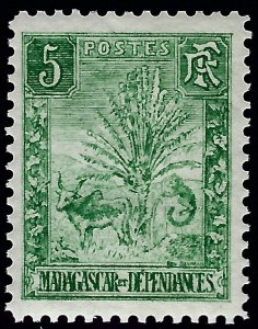 Malagasy/Madagascar Exceptional VF+Sc #66 Mint..Fill an important spot!