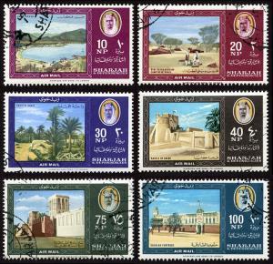 Sharjah Mi 81-86 cto set/6 1964 Landscapes  - landmarks (cond*)