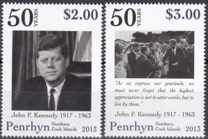 Penrhyn Island #519-20   MNH CV $8.25   (A19974)