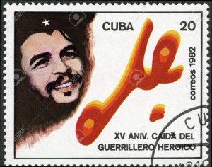 CUBA Sc# 2548  Ernesto CHÉ GUEVARA  che revolutionary guerrilla  1982  used cto