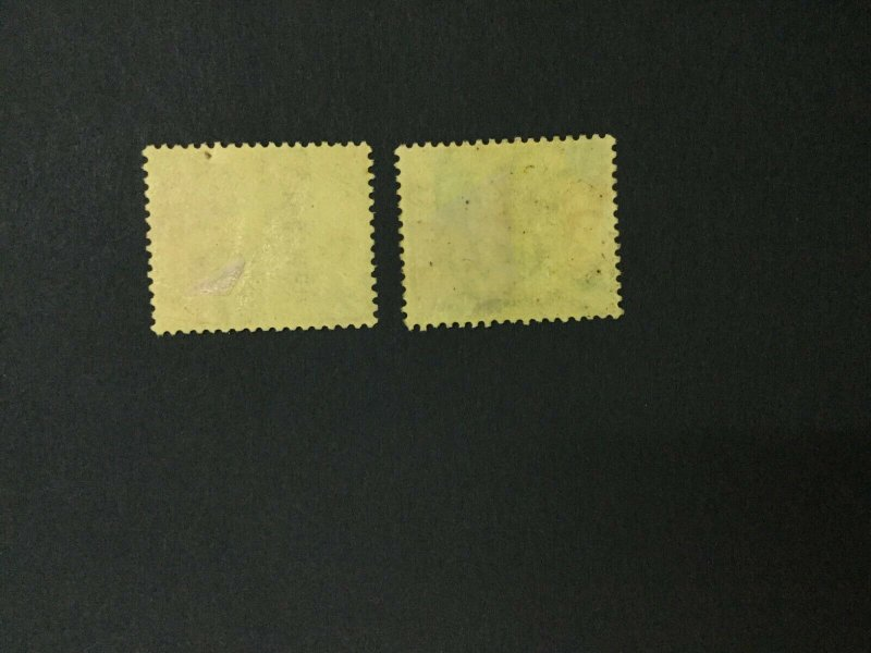MOMEN: CAYMAN ISLANDS SG #51s 2 SHADES SPECIMEN UNUSED LOT #191628-316