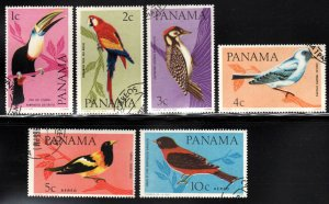 Panama # 462-62C, C337-38 ~ Cplt Set of 6 ~ Ucto, NH