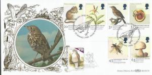 Endangered Species 1998 Benham Official double postmarked rare FDC BLCS137b A794