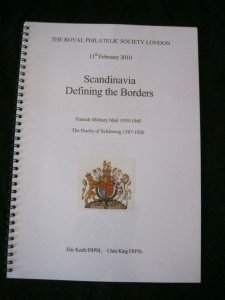 SCANDINAVIA DEFINING THE BORDERS - A DISPLAY TO THE ROYAL 2010 by KEEFE & KING