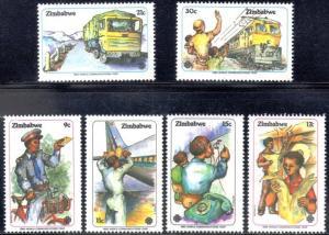 Zimbabwe MNH 464-9 World Communications Year 1983