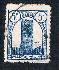 French Morocco 193 Used Tower of Hassan (BP13632)