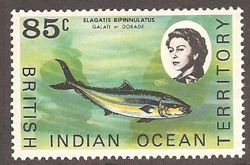British Indian Ocean Territory 27 Mint VF H