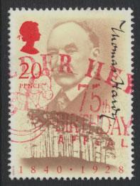 Great Britain SG 1506  Used  - Thomas Hardy