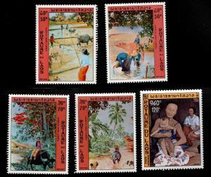 LAOS Scott C96-100 MNH** stamp set