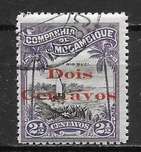 Mozambique Company 150 Surcharge single Used