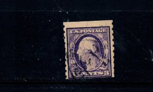 US Stamp SC# 394. Used. 1910=13