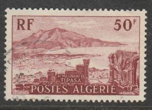 Algérie  1955  Scott No. 263  (O)