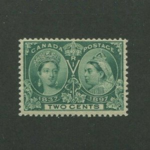 1897 Canada Postage Stamp #52 Mint Never Hinged F/VF Creased Gum