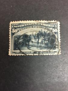 240 .50 Recall Of Columbus Very Fine Used